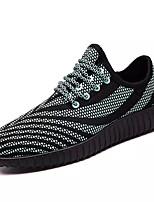Kids Athletic Shoes Comfort PU Spring Fall Athletic Outdoor Walking Comfort Flat HeelRoyal Blue Black/White Pink/White Dark Blue