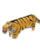 Пазлы Набор для творчества 3D пазлы Строительные блоки Игрушки своими руками Tiger Животный принт