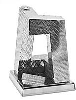 Quebra-cabeças Quebra-Cabeças 3D Quebra-Cabeças de Metal Blocos de construção Brinquedos Faça Você Mesmo Rectângular Inovador Alumínio