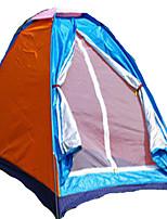 1 personne Tente Unique Tente pliable Une pièce Tente de camping <1000mm Polyester Camping & Randonnée-Camping / Randonnée-