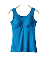 Women's Casual/Daily Simple Summer Blouse,Solid Strap Half Sleeve Cotton Thin