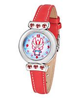 Mujer Reloj de Moda Cuarzo Piel Banda Rojo