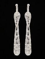 Women's Drop Earrings Rhinestone AAA Cubic Zirconia Vintage Classic Elegant   Jewelry For Wedding Anniversary Party