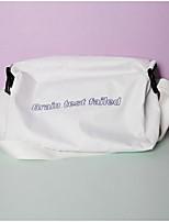 Women Shoulder Bag PU All Seasons Casual Outdoor Round Zipper White