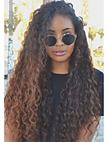 2017 Summer New Style T1B/30 Curly Lace Fron Human Hair Wigs with Baby Hair Brazilian Virgin Human Hair for Black Women Natural Hairline Shipping Free