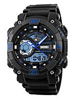 SKMEI Hombre Reloj Deportivo Reloj Militar Reloj de Moda Reloj de Pulsera Reloj digital Japonés CuarzoLED Calendario Cronógrafo