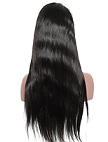 Silky Straight Lace Front Human Hair Wigs Brazilian Virgin Hair Joywigs Pre Plucked Bleached Knots Wigs