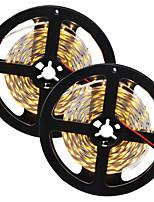 80W Faixas de Luzes LED Flexíveis 7650-7750 lm DC12 V 10 m 300 leds Branco Quente Branco