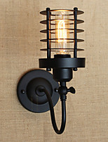 AC 220-240 AC 110-130 40 E26/E27 Vintage Country Painting Feature for Mini Style Bulb Included,Ambient Light Wall Sconces Wall Light
