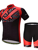 CYCEARTH Cycling Jersey Shorts Pants Short Sleeve Men's Bike Clothing Suits Clothes Summer Breathable Quick Dry