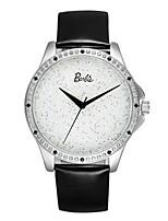 Жен. Модные часы Кварцевый Кожа Группа Черный
