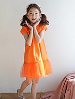 Vestido Chica de Un Color