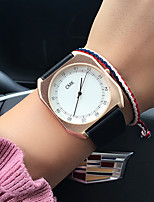 Women's Fashion Watch Wrist watch Casual Watch Chinese Quartz / PU Band Vintage Casual Luxury Elegant Black Brown