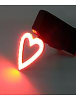 Světla na kolo LED Cyklistika Roztomilý Mini styl Outdoor návrháři USB Lumenů USB Červená Každodenní použití