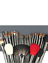 1set Makeup Brush Set Goat Hair Professional Full Coverage Wood Face