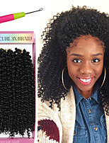 Bohemian crochet afro kinky curly braids 3pcs/pack synthetic SAVANA twist hair jerry curly 10inch synthetic braiding freetress water wave marley hair
