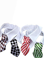 Dog Tie/Bow Tie Dog Clothes Wedding British Black Red Green Rainbow