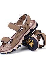 Men's Sandals Slingback Comfort Light Soles PU Spring Summer Casual Outdoor Office & Career Slingback Comfort Light Soles Magic TapeFlat