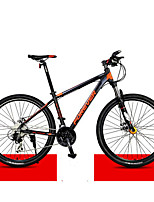 Mountain Bike Cycling 30 Speed 27 Inch MICROSHIFT 24 Double Disc Brake Suspension Fork Aluminium Alloy Frame Ordinary/Standard Anti-slip