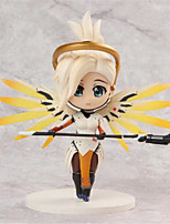 Figuras de Ação Anime Inspirado por Overwatch Fantasias PVC 10 CM modelo Brinquedos Boneca de Brinquedo