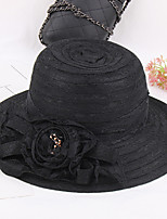 Women's Fashion Lace Handmade Flowers 7 Colors Beauty Sun Hat & Hats