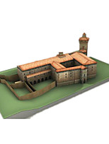 Jigsaw Puzzles DIY KIT 3D Puzzles Building Blocks DIY Toys Castle Famous buildings