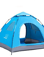 3-4 persons Travel Bag Single Fold Tent Camping Tent Ox horn Keep Warm-Camping / Hiking-