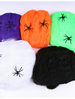 Costumes/Spider Webs/Spider Cotton For Halloween Props/Bar KTV Decorations/Ghost Festival Scenes