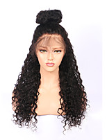 New 180% Density 360 Lace Frontal Wigs with Baby Hair Cheap Brazilian Virgin Human Hair Pre Plucked 360 Lace Wigs Natural Hairline with Bleached Knots