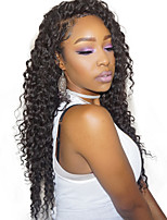 180% Density 360 Lace Frontal Wig Deep Wave Remy Human Hair Wig Pre Plucked Natural Hairline With Baby Hair 10-24''