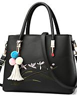 IMBETTUY Women's Fashion PU Leather Messenger Shoulder Bags/Handbag Tote