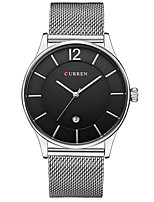 New Watches Men Luxury Brand Mesh Steel Strap Slim Male Clock Men Watch Business Fashion Casual Watches relogio masculino