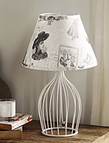 Nordic American Iron Bedroom Table Lamp Modern Simple Creative Lamp