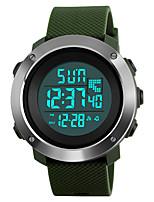 SKMEI Hombre Reloj Deportivo Reloj Militar Reloj de Moda Reloj digital Reloj de Pulsera Japonés DigitalLED Calendario Cronógrafo