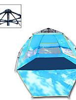 3-4 persone Tenda Singolo Tenda automatica Una camera Tenda da campeggio 1000-1500 mm Taffetà in poliestereCampeggio e hiking
