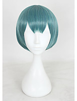 12INCH SHORT GREEN WATASHI GA MOTETE DOUSUNDA SHIMA NISHINA ANIME COSPLAY WIG CS-321B