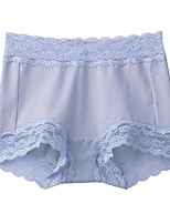 Women's Lace Solid Shaping Panties