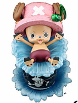 Figuras de Ação Anime Inspirado por One Piece Tony Tony Chopper PVC 17 CM modelo Brinquedos Boneca de Brinquedo