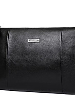 Men Clutch Cowhide All Seasons Casual Outdoor Round Zipper Brown Black Blue
