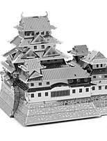 Puzzles Puzzles 3D Puzzles en Métal Blocs de Construction Jouets DIY  Carré Aluminium