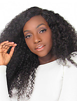 Popular Malaysian Curly Virgin Human Hair Lace Front Wigs For Black Women Natural Color From Joywigs