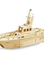 Puzzle Kit fai-da-te Puzzle 3D Modellini di metallo Costruzioni Giocattoli fai da te Nave da guerra Lengo naturale