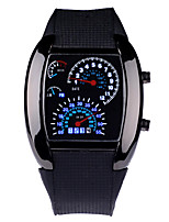 Dashboard LED Version Promotional Car Watch Sector Sports Men Wrist Aviation Led Watch