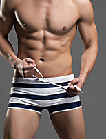 Hot! Fashion S-3XL Plus Size  Men's One-piece Lace Up Color Block Sport Mesh Solid  Mesh Beachwear Swimwear