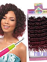 Gehäkelt Locken Curly Flechten Haarverlängerungen Künstliches Haar Haar Borten