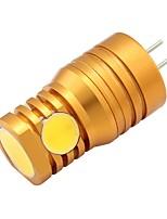 2W LED à Double Broches T 4 COB 180 lm Blanc Chaud V 1 pièce