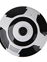 VESKYS® 960P 360 Degree FishEye Full View IP Wi-Fi Camera(1.3MP FishEye960P Wi-Fi 10m Nigh VisionDual Talk)