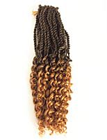 Pré-boucle Tresses crochet Bouclé Kanekalon Noir Noir / Blond Fraise Noir / Medium Auburn Noir / Bourgogne Noir / VioletExtensions de