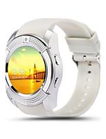 Муж. Модные часы Цифровой Защита от влаги Pезина Группа Черный Белый Синий Красный Серый