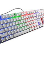 X7200 104Keys Green Axis USB Wired Mechanical Keyboard With 180CM Cable
